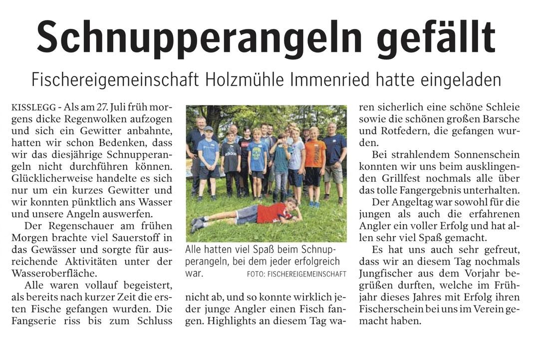 Schwäbische Zeitung vom 16.8.2019