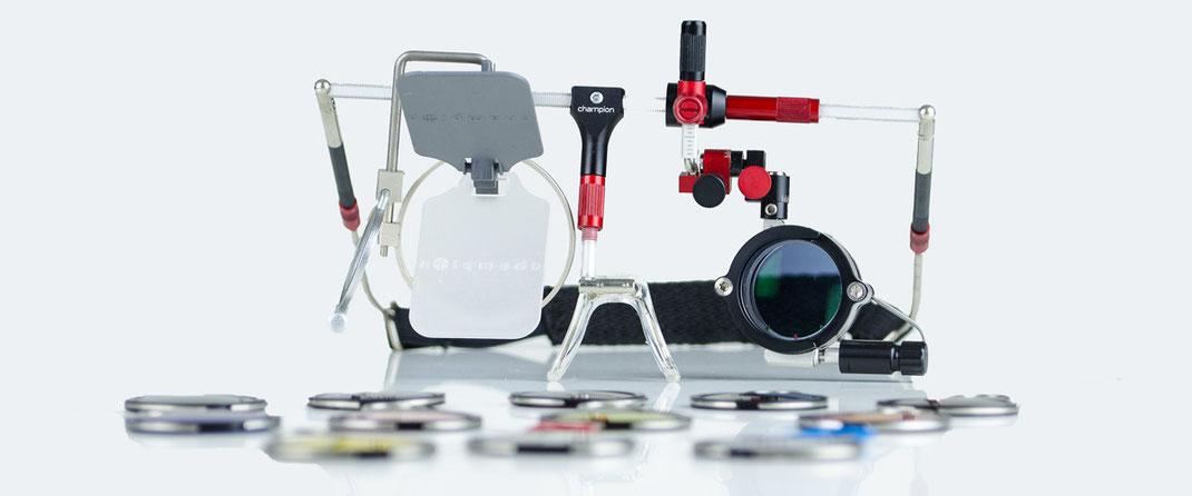 Champion Schiessbrillen & Schiessbrillensystem für Sportschützen von AXIA TRIPLE X, optische Schiessbrillen für Schützen mit korrigierten Gläsern, Beratung für Schützenvereine und Schiessbrillenanpassung bei SEHSTERN OPTIK Berikon, Bremgarten, Niederglatt
