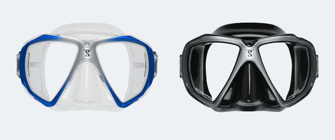 Optische Tauchbrillen mit korrigierten Gläsern für Taucher mit Sehschwäche. Korrigierte Tauchmaske für kurzsichtige und weitsichtige Taucher oder mit Gleitsichtgläsern (Varilux) bei SEHSTERN OPTIK – Ihr Optiker in Berikon, Bremgarten und Niederglatt.