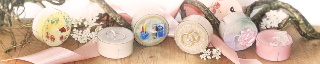 Lichtgarten Licht-Garten Kerzen Teelichter Jumboteelichter Jumbo-Teelichter Simone Fischer besondere Anlässe