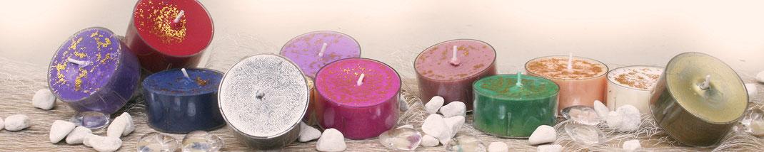 Lichtgarten Licht-Garten Kerzen Teelichter Jumboteelichter Jumbo-Teelichter Simone Fischer Engel Heilige