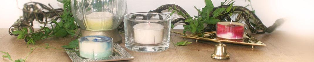 Lichtgarten Licht-Garten Kerzen Teelichter Jumboteelichter Jumbo-Teelichter Simone Fischer Zubehör Kerzenhalter Kerzenteller Kerzenlöscher
