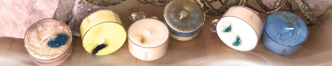 Lichtgarten Licht-Garten Kerzen Teelichter Jumboteelichter Jumbo-Teelichter Simone Fischer  Segen