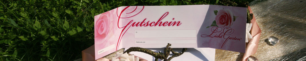 Lichtgarten Licht-Garten Kerzen Teelichter Simone Fischer Gutschein