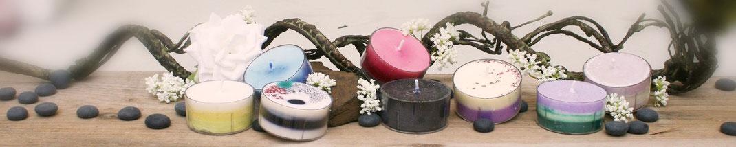 Lichtgarten Licht-Garten Kerzen Teelichter Simone Fischer Trauer Hospiz Sterbebegleitung