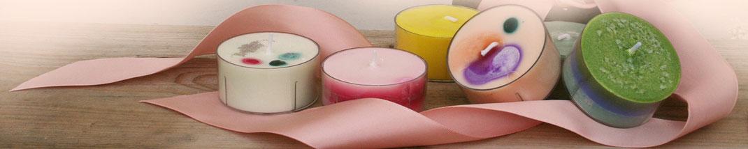 Lichtgarten Licht-Garten Kerzen Teelichter Jumboteelichter Jumbo-Teelichter Simone Fischer Geschenke
