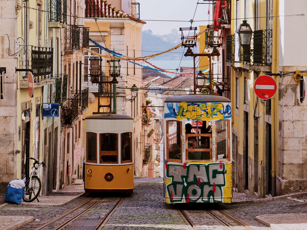 The iconic Elevador da Bica