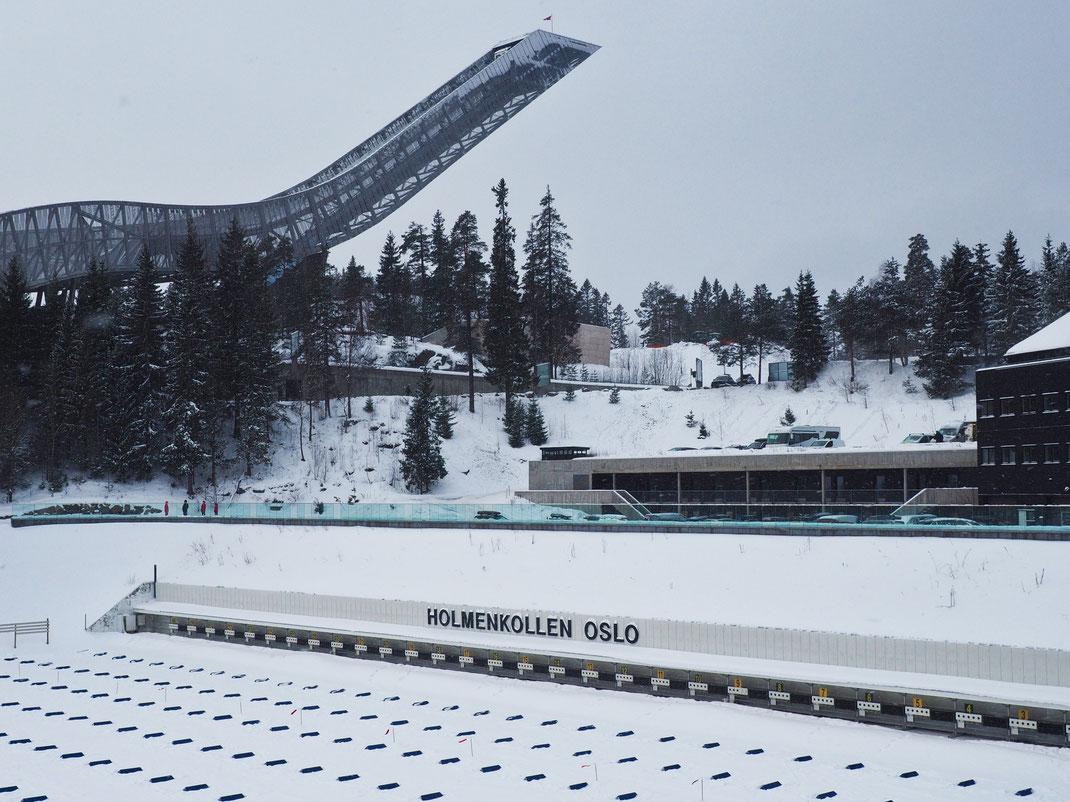 The Holmenkollen ski jump
