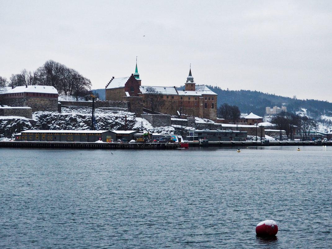 Akershus Fortress, Aker Brygge, Oslo, View