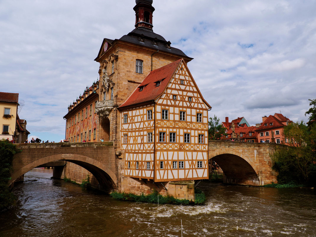 The most famous view of this iconic building in Bamberg