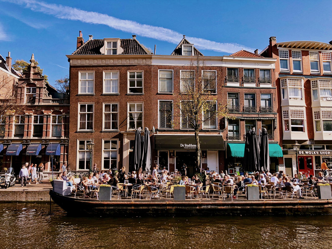 Nieuwe Rijn in Leiden