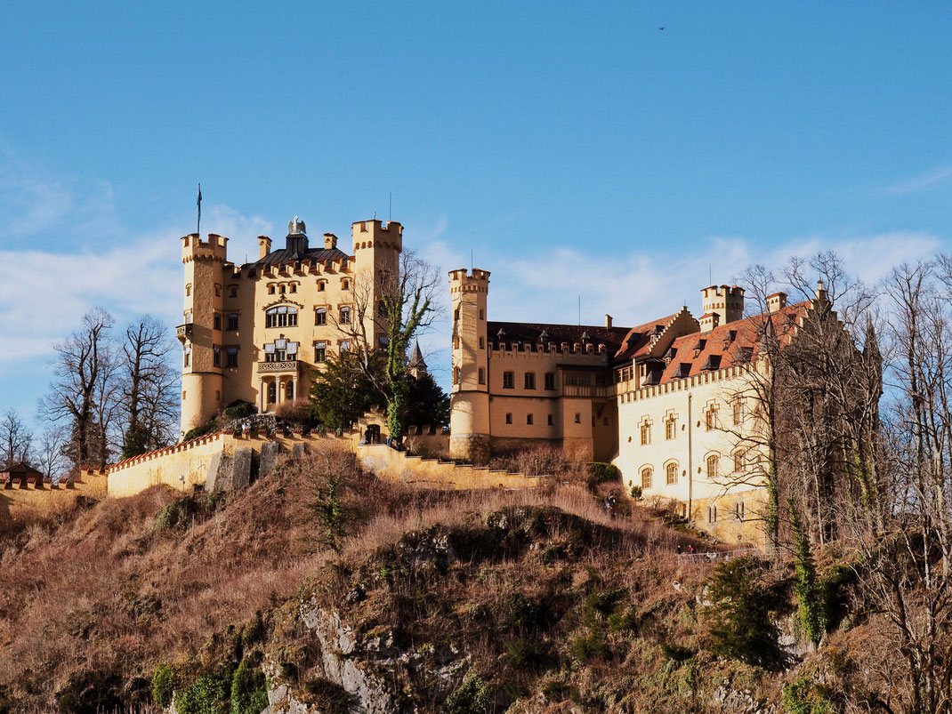 The Hohenschwangau Castle