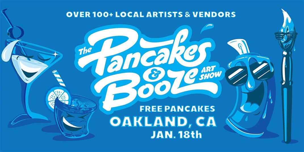 Pancakes & Boozes Oakland 2020, CA