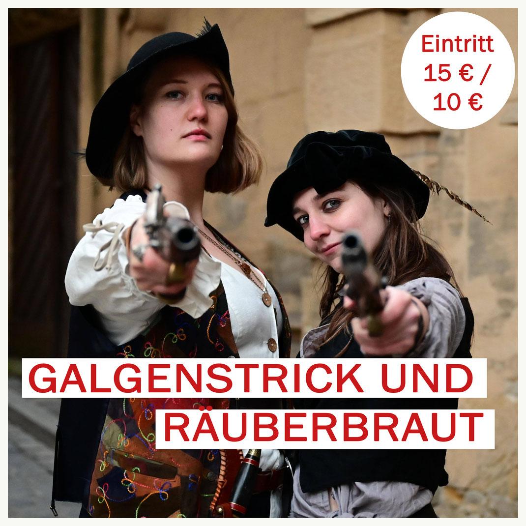 Räuber in den Bamberg Gassen