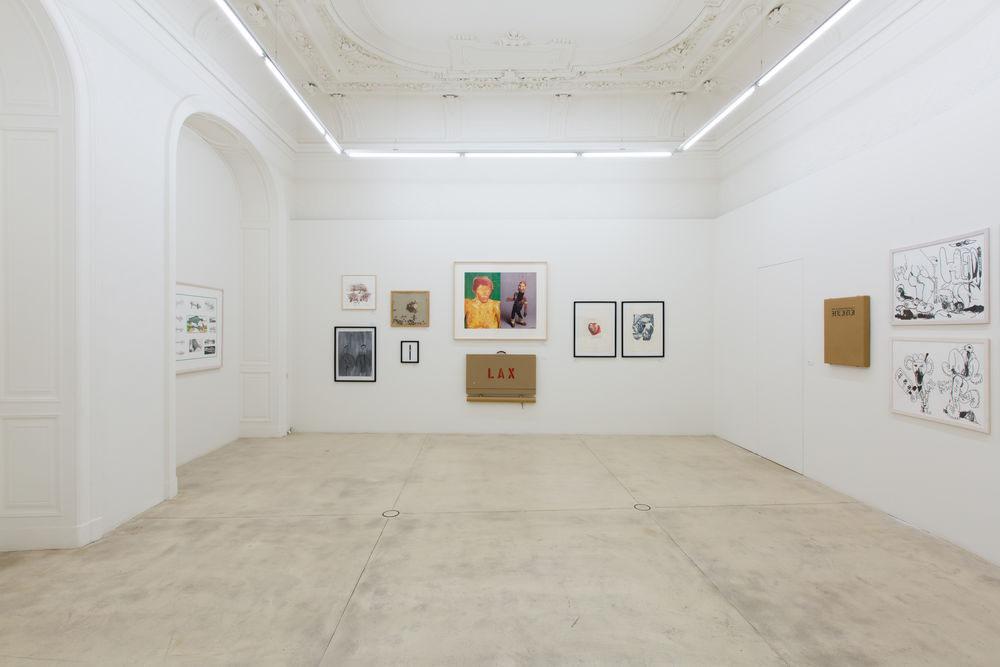 "Paul McCarthy/Mike Kelley Exhibition View  1992 ""Heidi"" Galerie Krinzinger Vienna (Austria)"