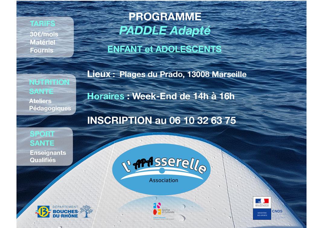 Paddle Sport Santé Marseille