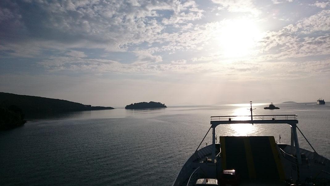 Reisen mit dem Linienschiff bringt die Seele zur Ruhe und hinterlässt einen kleinen ökologischen Fußabdruck.