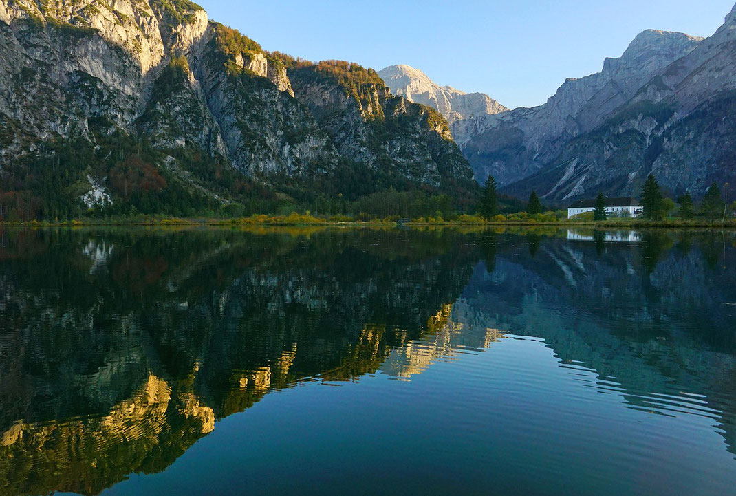 Die Ödseen am Rande des Toten Gebirges sind einer der Naturschätze Oberösterreichs / Foto: Isiwal, Wikipedia