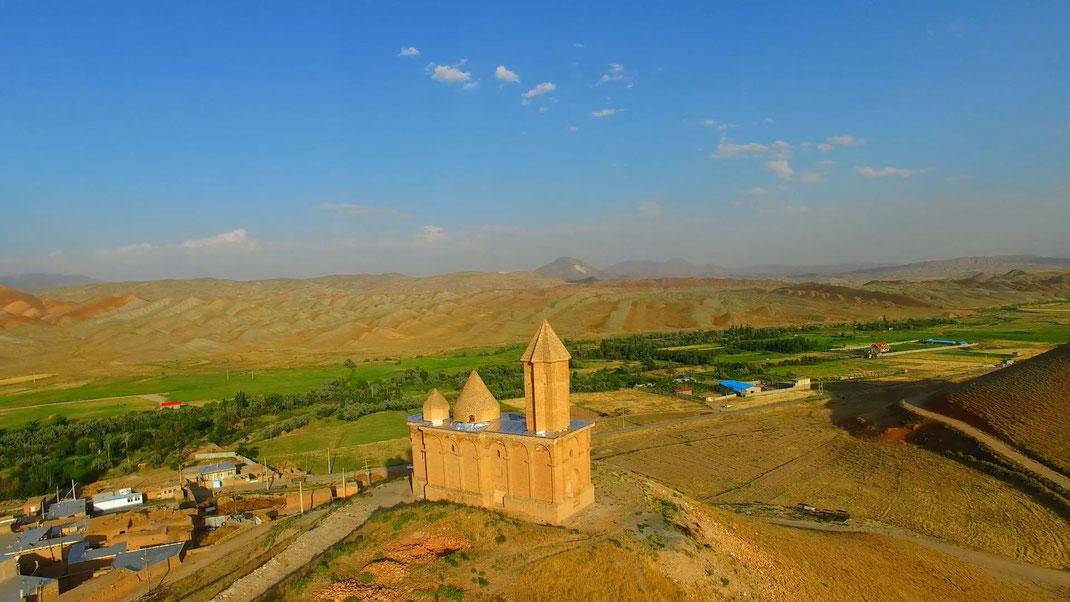 Kirche in der Provinz Azerbaijan (Foto Jalil Noroozi)