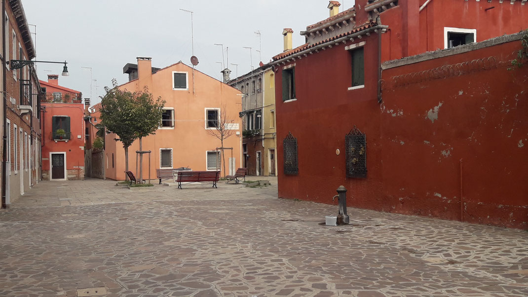 Calle Ferrando auf Guidecca - das touristische Leben spielt sich wo anders ab...