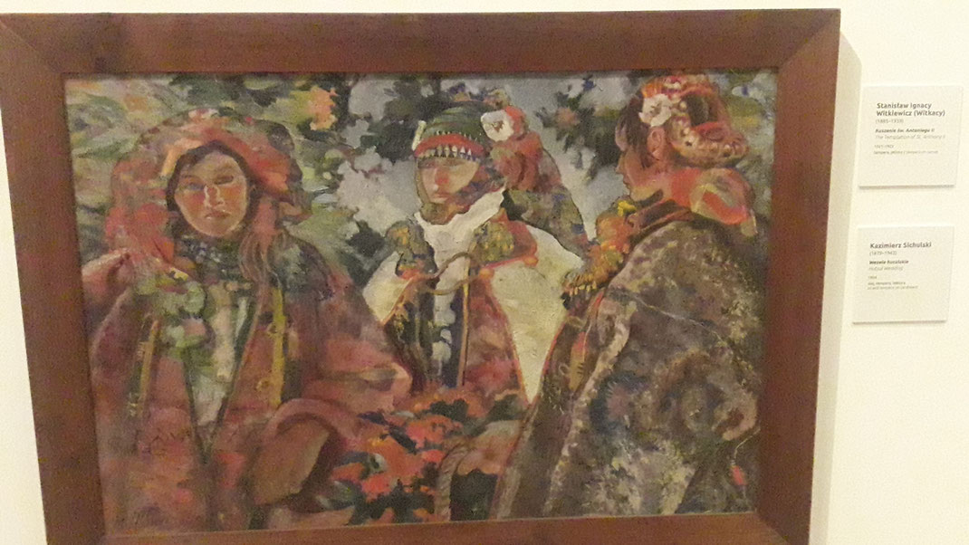 Lemken - gemalt von Kazimierz Sichulski im Jahr 1924 - ausgestellt im Nationalmuseum Krakau