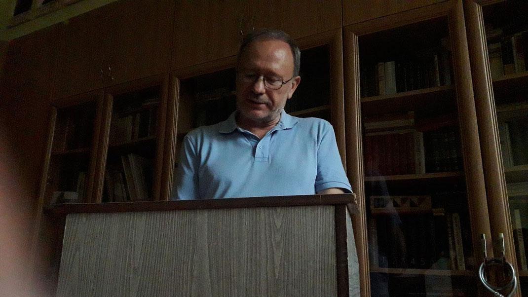 Peter Rychlo ist Literaturprofessor an der Universität Czernowitz