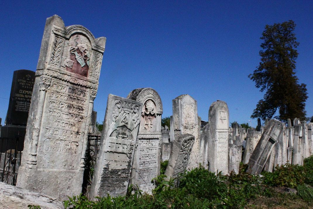 Zeuge einer längst vergangenen Zeit - der jüdischer Friedhof in Czernowitz