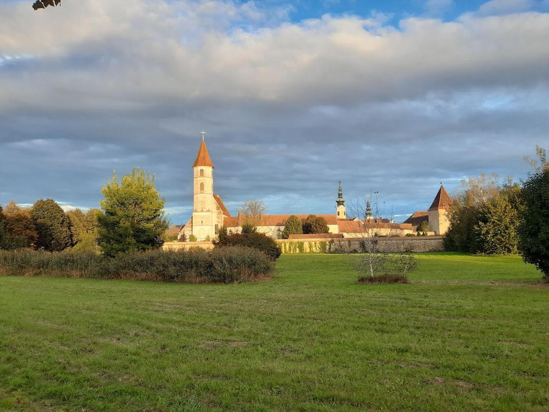 Heute noch gut erkennbar sind die jahrhundertealten Festungsreste / Foto: TV Radkersburg