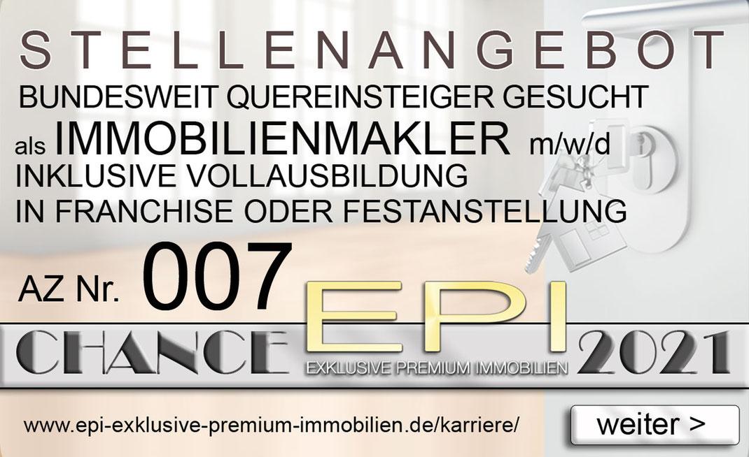 007 STELLENANGEBOTE QUEREINSTEIGER IMMOBILIENMAKLER JOBANGEBOTE IMMOBILIEN MAKLER FRANCHISE FESTANSTELLUNG VOLLZEIT