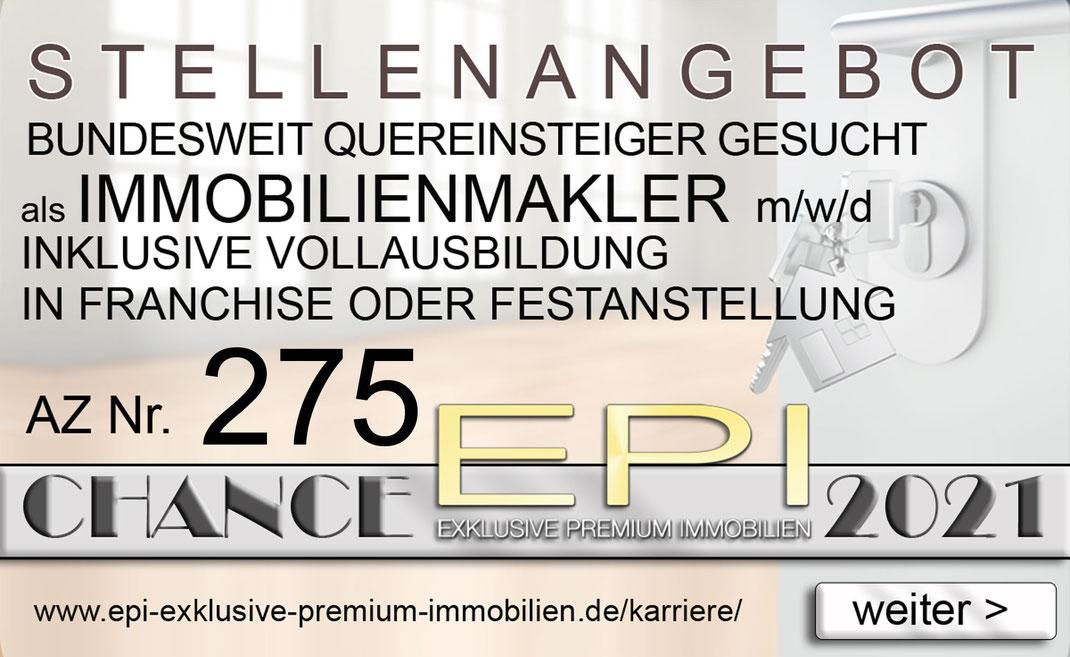 275 STELLENANGEBOTE COBURG QUEREINSTEIGER IMMOBILIENMAKLER JOBANGEBOTE IMMOBILIEN MAKLER FRANCHISE FESTANSTELLUNG VOLLZEIT