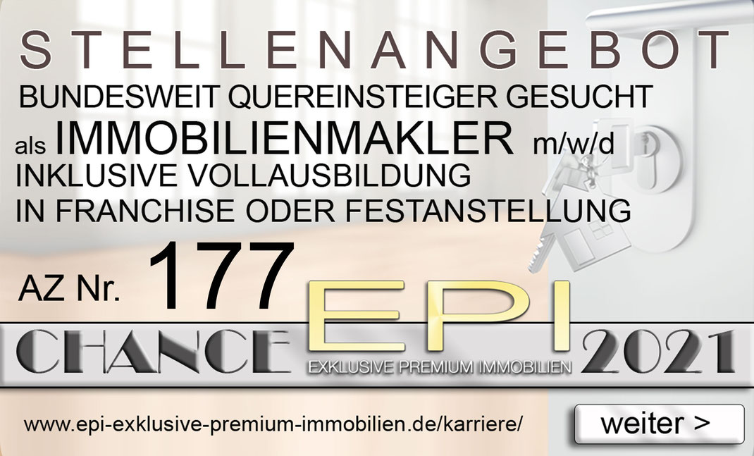 177 STELLENANGEBOTE HAMELN QUEREINSTEIGER IMMOBILIENMAKLER JOBANGEBOTE IMMOBILIEN MAKLER FRANCHISE FESTANSTELLUNG VOLLZEIT