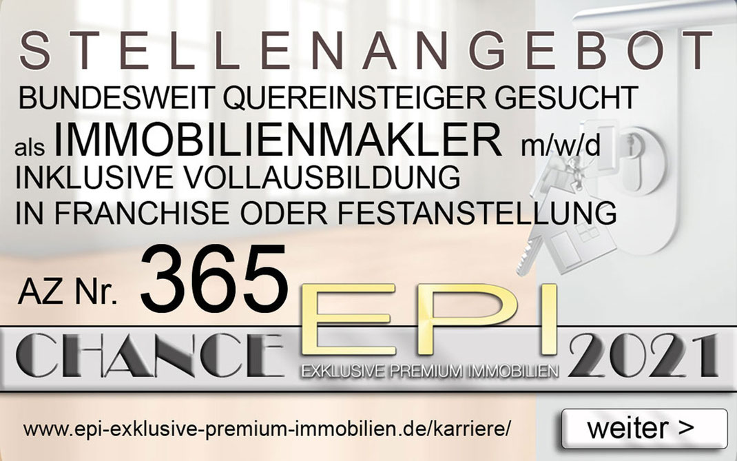 365 STELLENANGEBOTE CLOPPENBURG QUEREINSTEIGER IMMOBILIENMAKLER JOBANGEBOTE IMMOBILIEN MAKLER FRANCHISE FESTANSTELLUNG VOLLZEIT