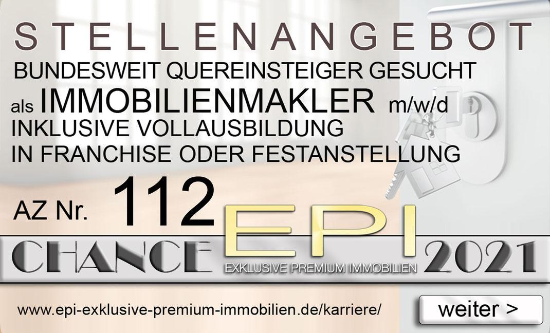 112 STELLENANGEBOTE ESSLINGEN QUEREINSTEIGER IMMOBILIENMAKLER JOBANGEBOTE IMMOBILIEN MAKLER FRANCHISE FESTANSTELLUNG VOLLZEIT