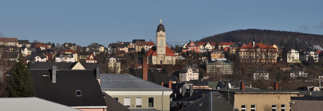Blick auf Aue Panorama