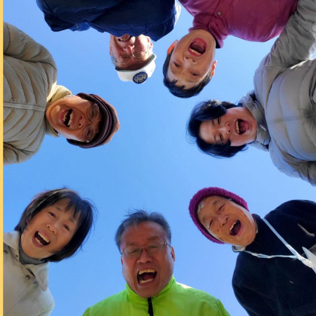 2020年1月18日松阪市鈴の森公園笑いヨガ