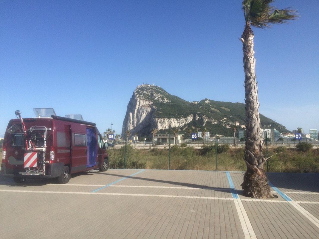 2015 von Spanien auf England, Gibralta