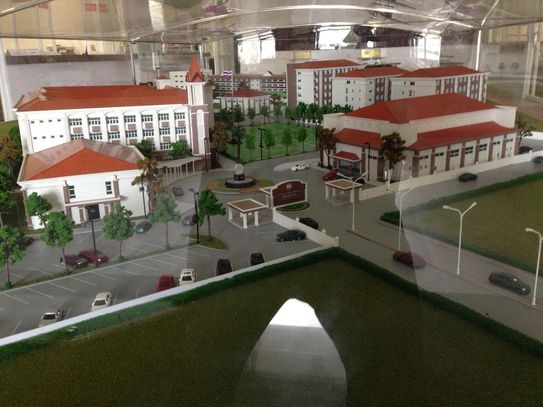 Scale Model @ Phuket Thaihua Asean Wittaya School