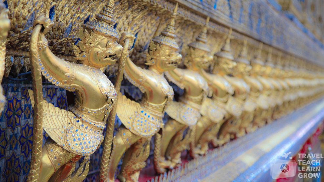 Grand Palace Garudas | Bangkok
