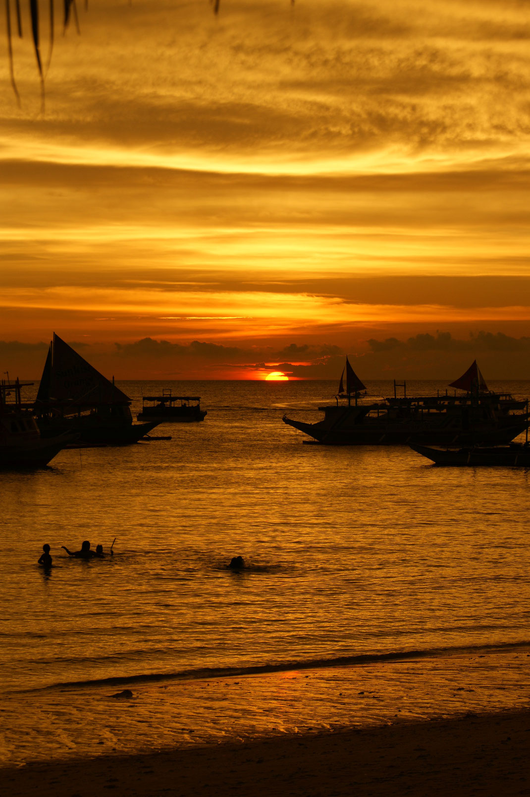 Sunset from Boracay's White Beach | Aklan