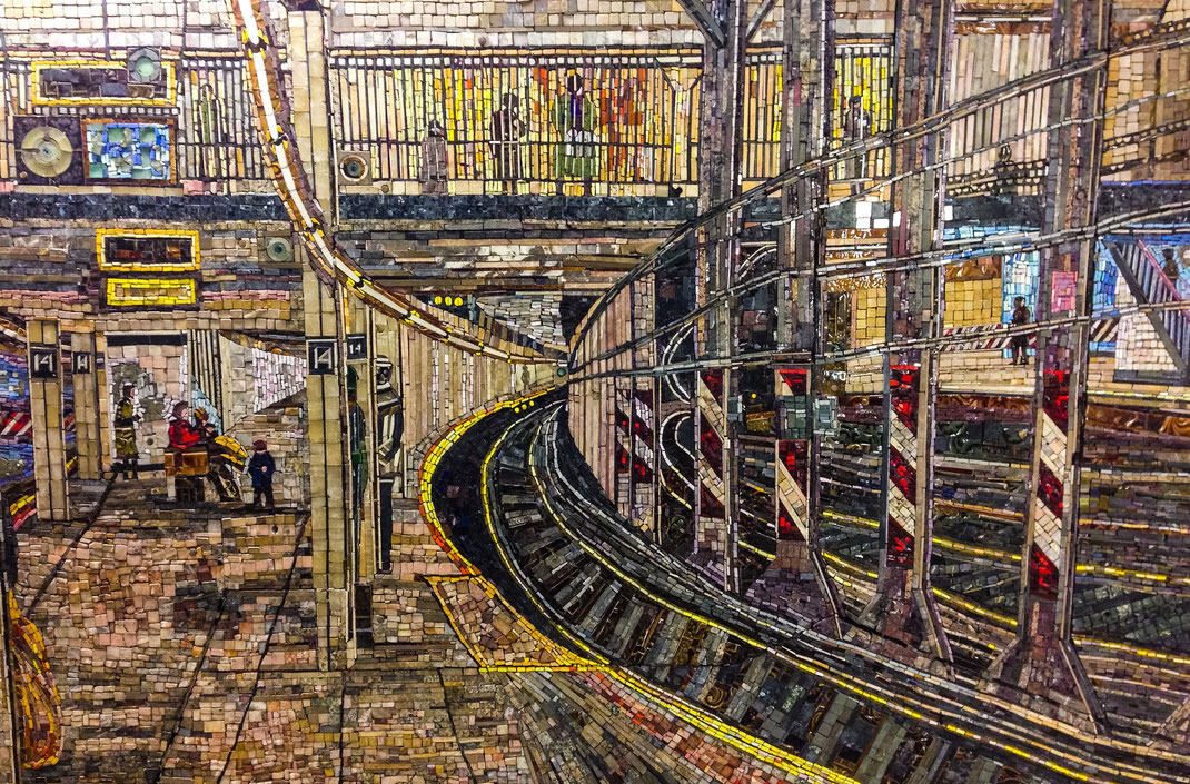 Mosaic Subway Art | New York City
