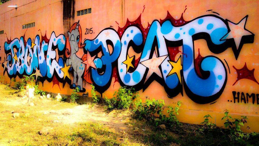 Koh Lanta Graffiti | Thailand