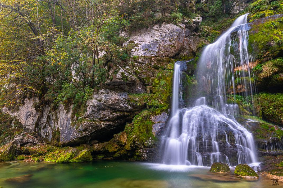Auch die Wasserfälle waren wunderbar (B2232)