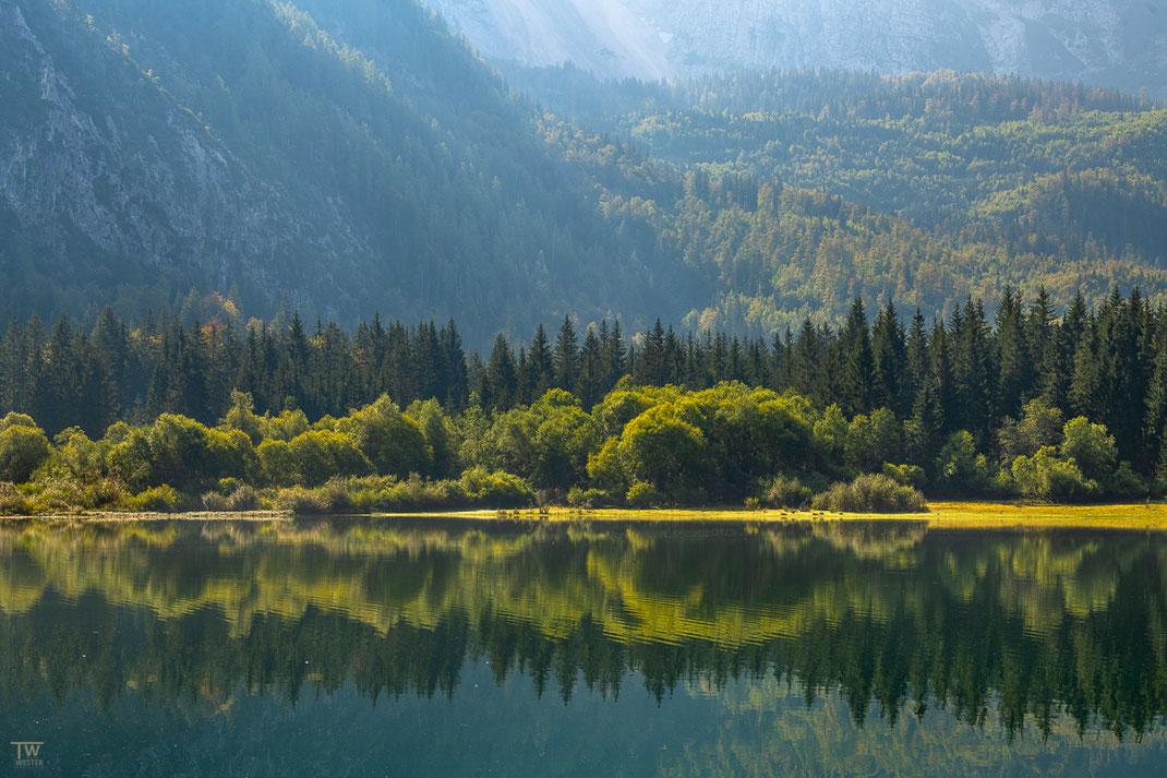 Auch die Uferlinien der italienischen Bergseen waren wunderbar anzuschauen (B2211)
