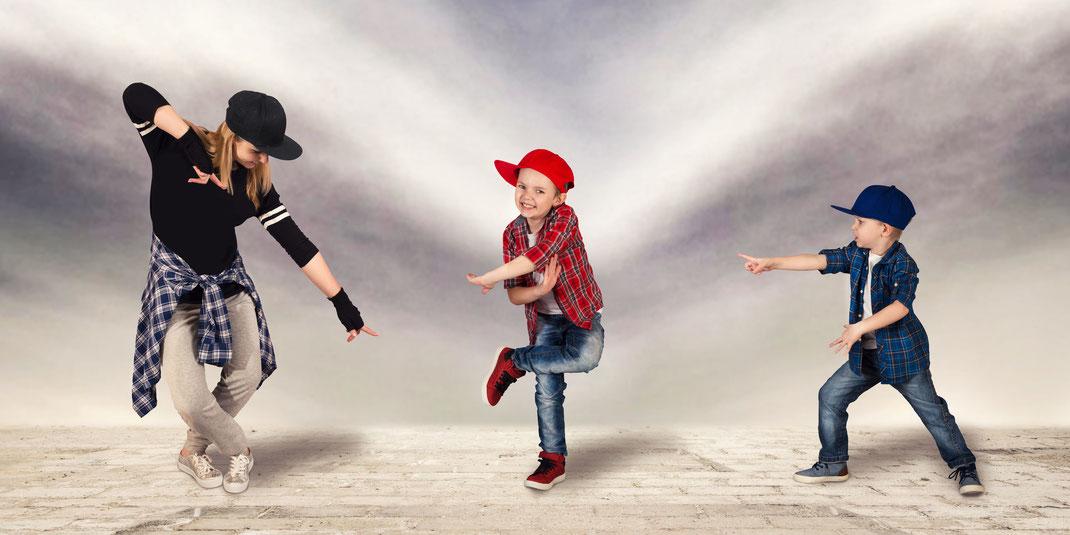 Tanzen Hip Hop für Kinder, Hip Hip für Erwachsene und Anfänger, Tanzkurs Hip Hip, Tanzschule Reutlingen, TANZraum Sabrina Adomeit
