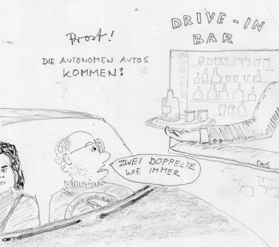 Autonome Autos, Traum und Albtraum der Fahrer - Sommer 2016