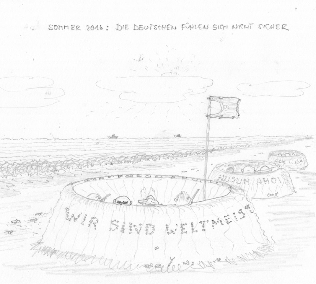 German Angst - Sommer 2016