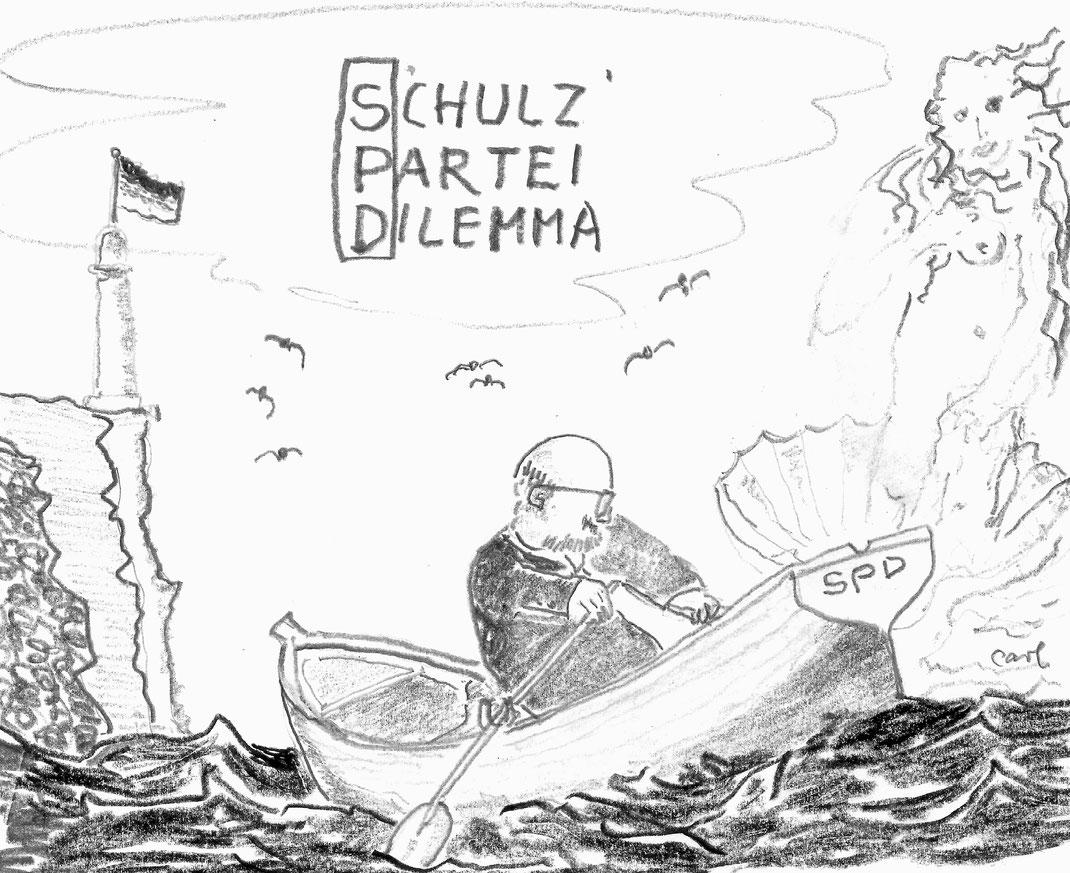 Zwischen Skylla (staatstragend) und Charyptis (sozialist. Paradies)