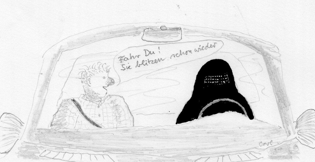 Dauerbrenner Burka - hier mal freundlich;November 2016