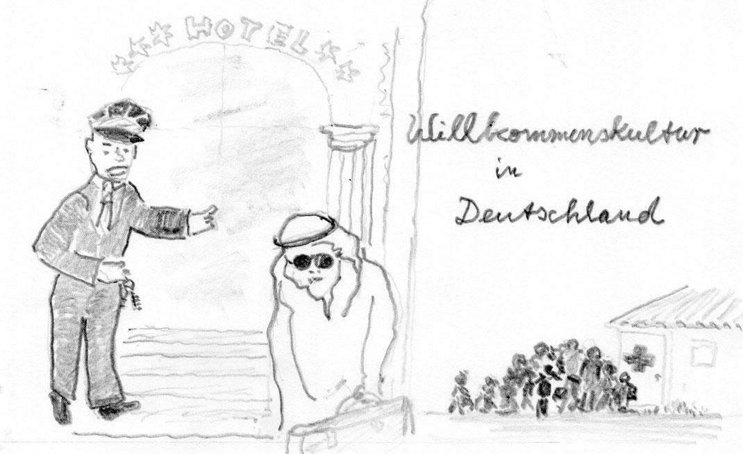 Bertelsmann-Studie zeigt: Reiche willkommen, Flüchtlinge weniger - 7.April 2017