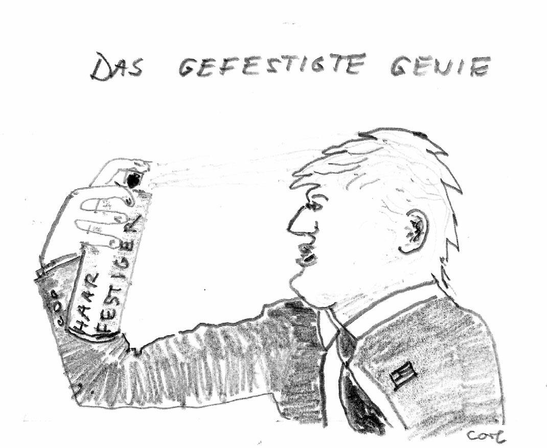 Trump hält sich für ein stabiles Genie